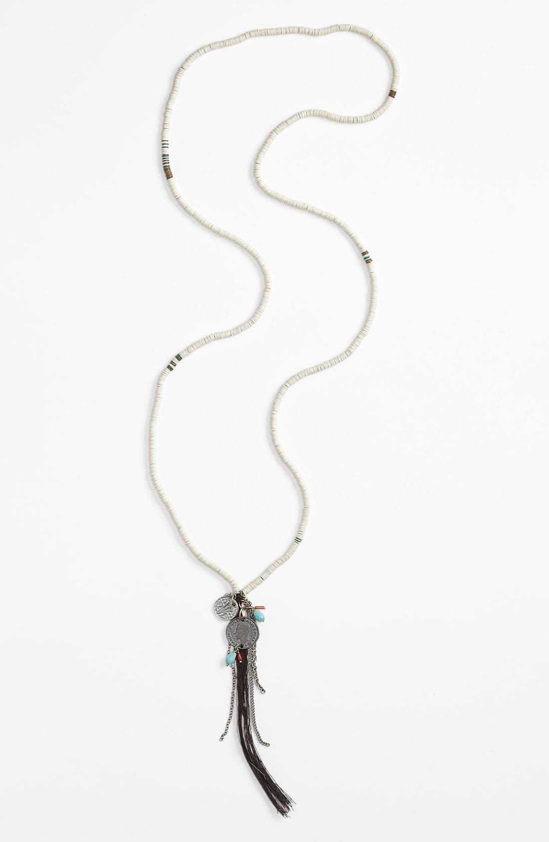Alternate Image 1 Selected - Chan Luu Sequin Tassel Necklace