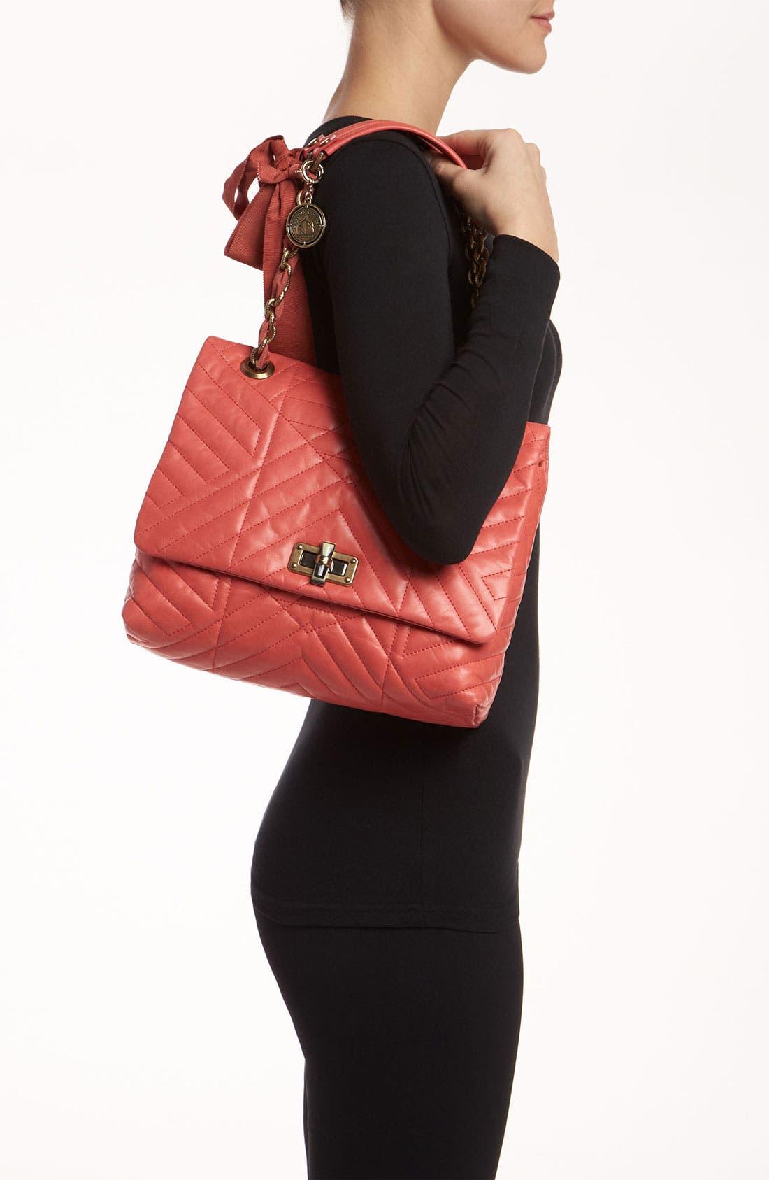 Alternate Image 2  - Lanvin 'Happy' Quilted Leather Shoulder Bag
