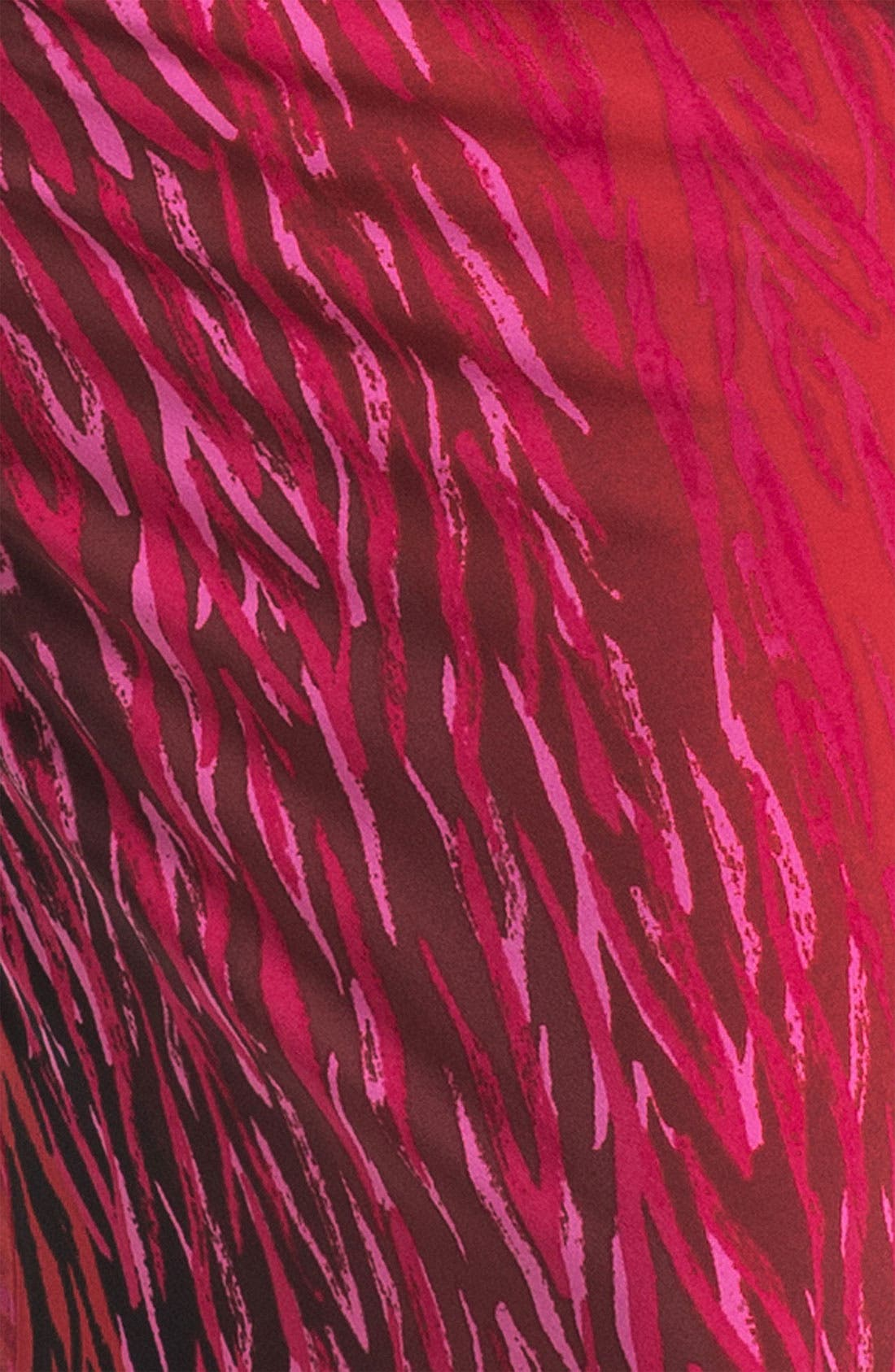 Alternate Image 3  - Anne Klein Ombré Zebra Print Dress
