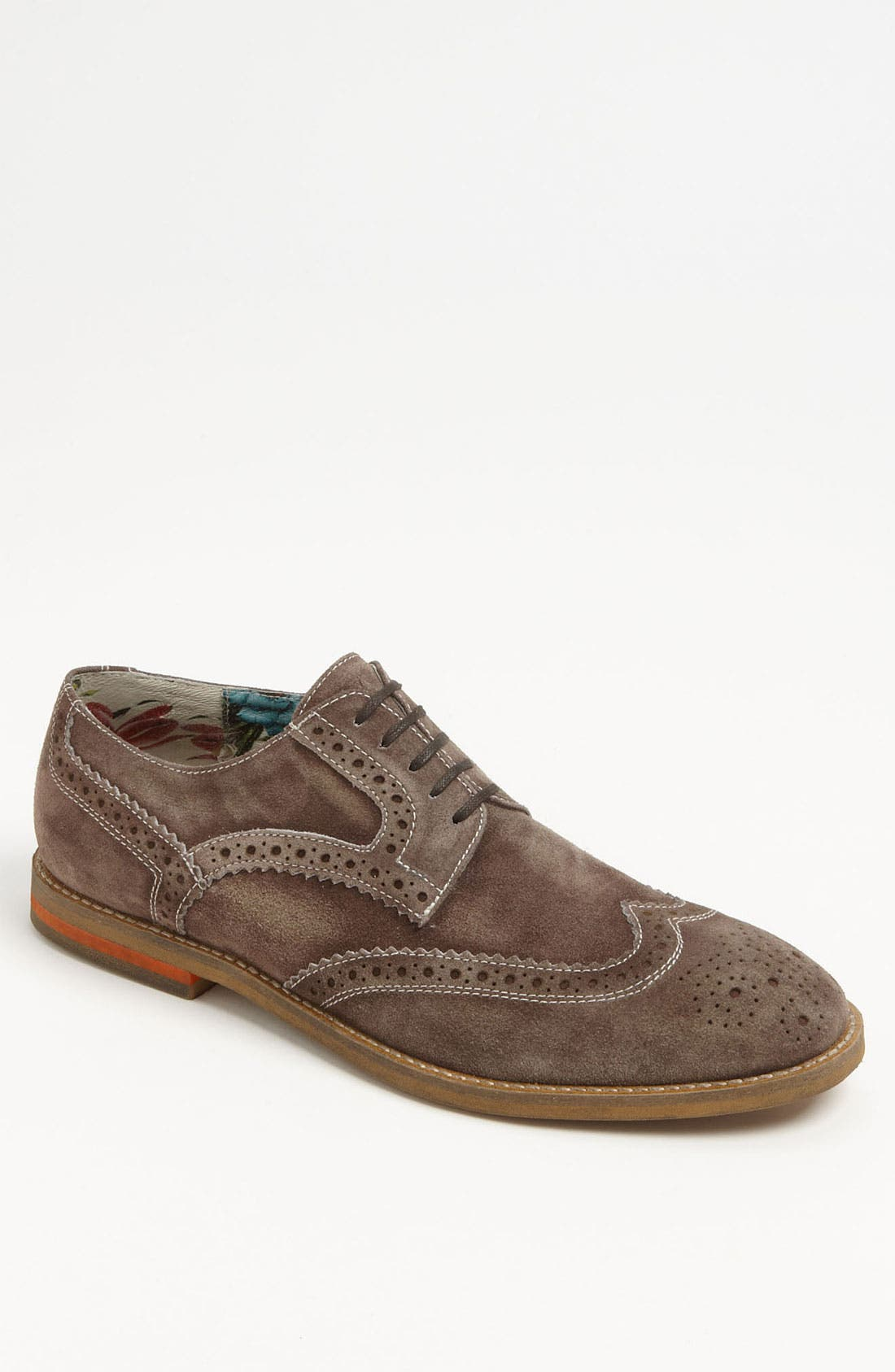 Alternate Image 1 Selected - Vince Camuto 'Veneto' Suede Wingtip