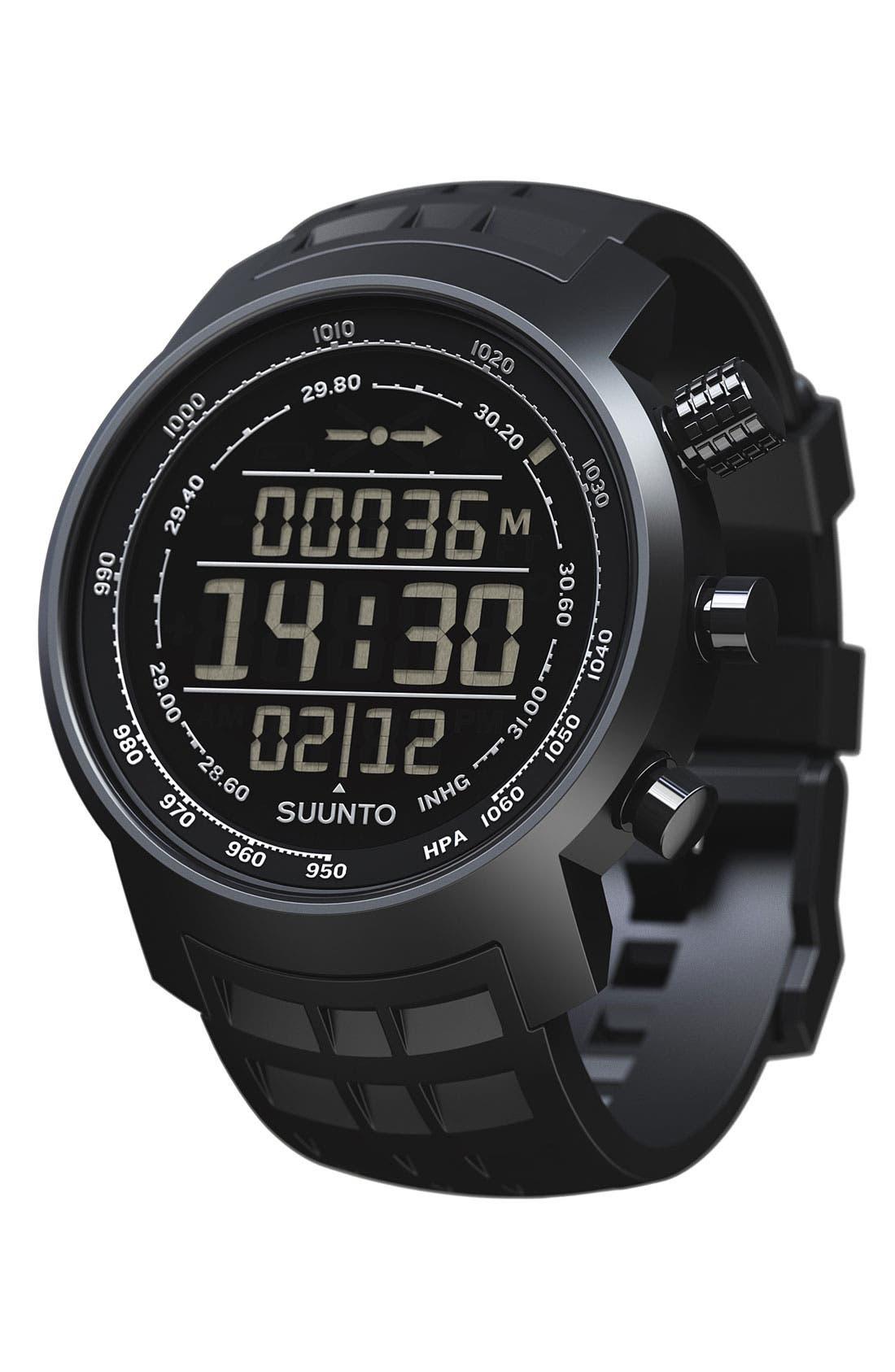 Alternate Image 2  - Suunto 'Terra' Rubber Strap Watch, 44mm