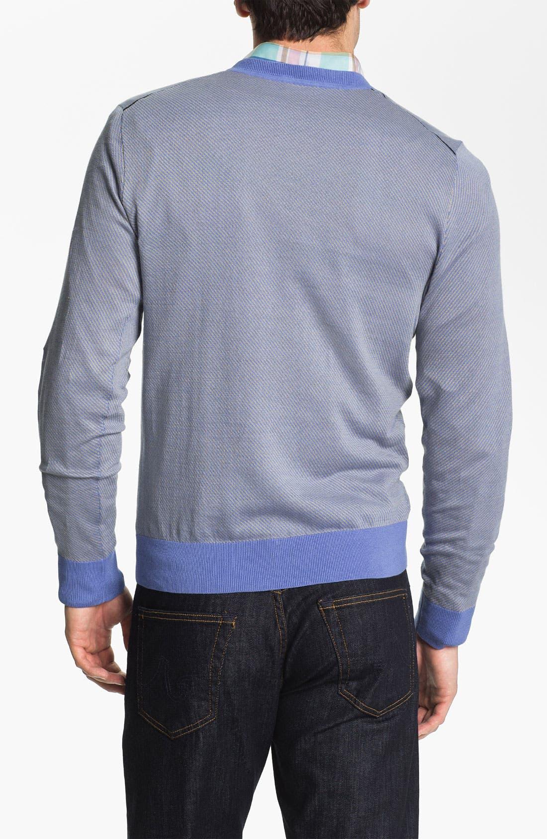 Alternate Image 2  - Façonnable V-Neck Sweater
