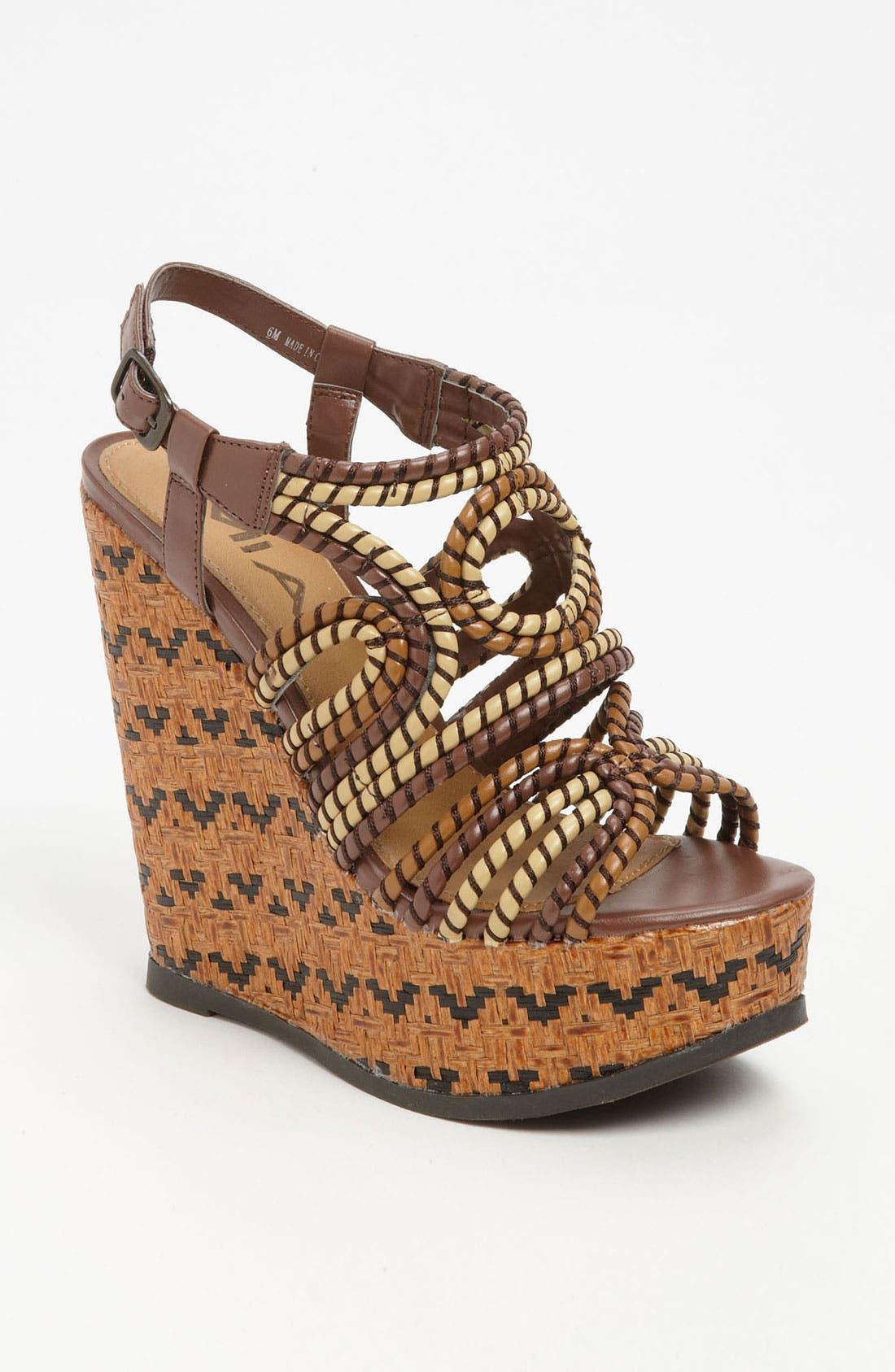 Alternate Image 1 Selected - MIA 'Evelyn' Wedge Sandal