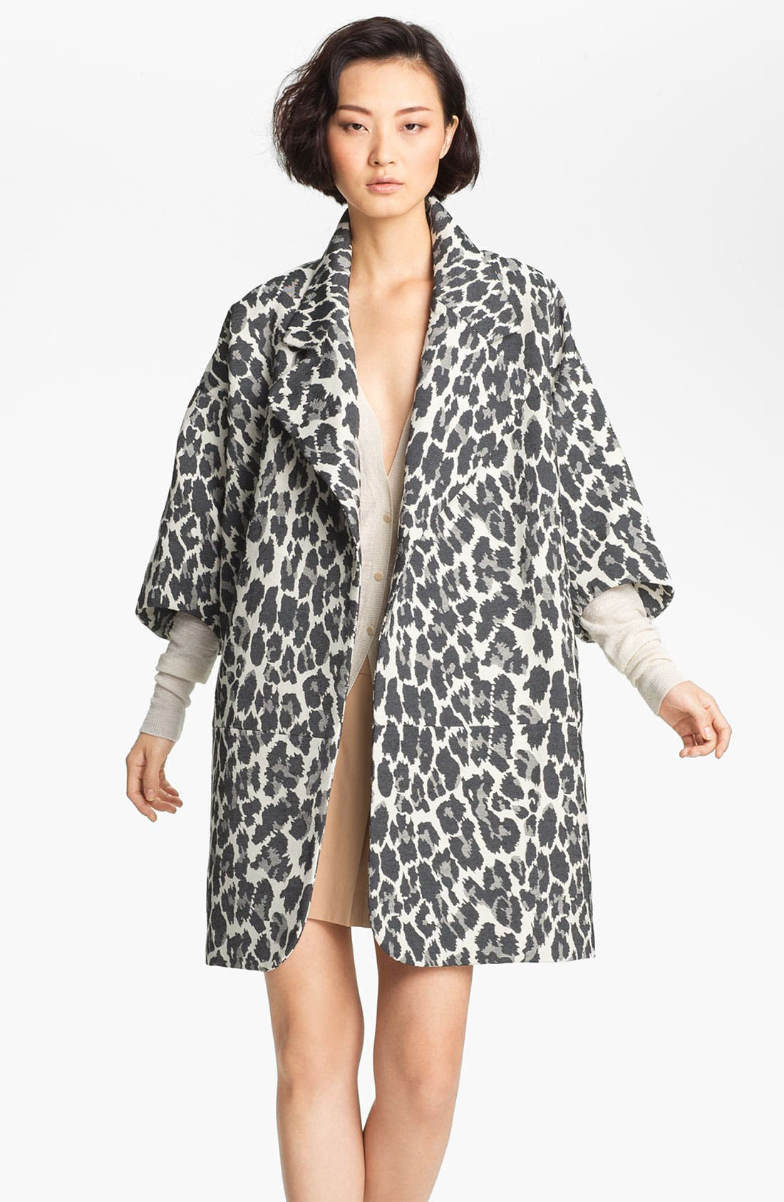 Alternate Image 2  - Tracy Reese Jacquard Coat