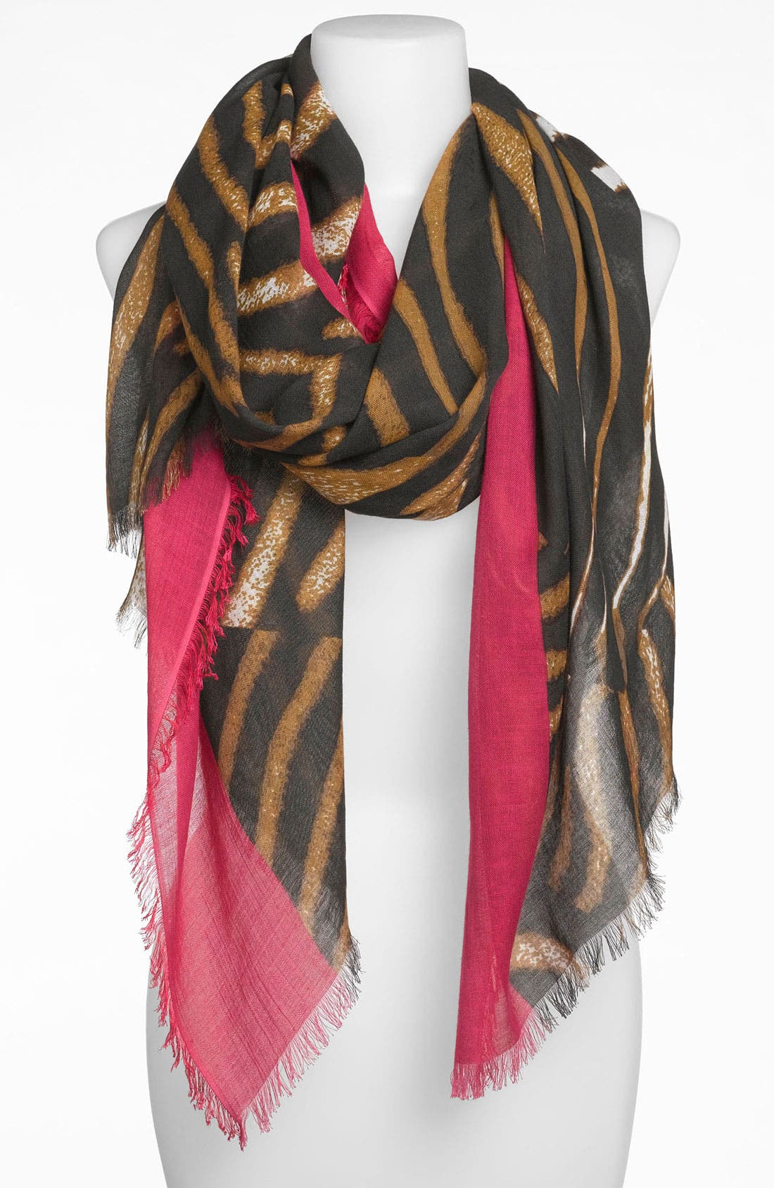 Alternate Image 1 Selected - Nordstrom 'Textural Swirl' Scarf