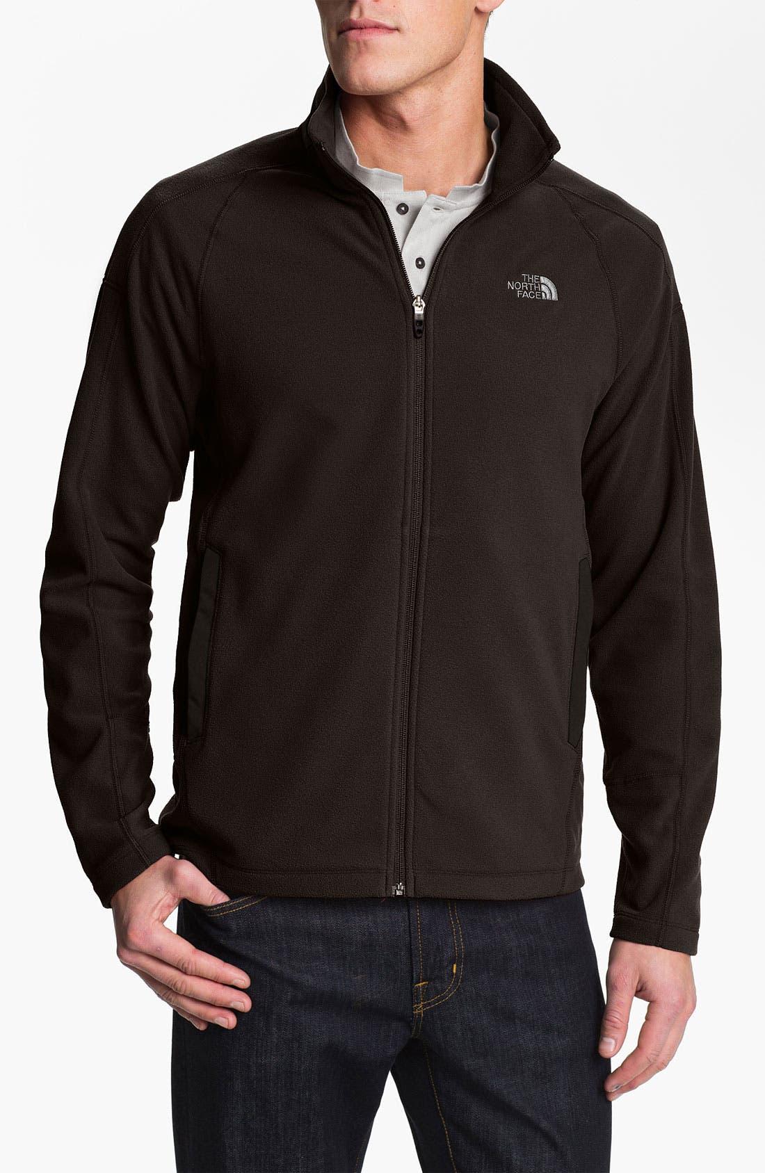 Alternate Image 1 Selected - The North Face 'RDT 100' FlashDry™ Full Zip Fleece Jacket