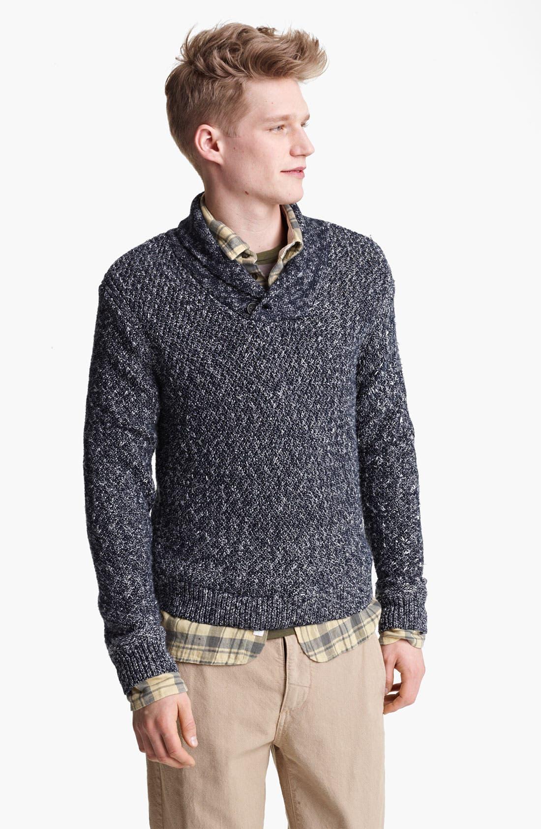 Main Image - rag & bone 'Alturas' Shawl Collar Sweater