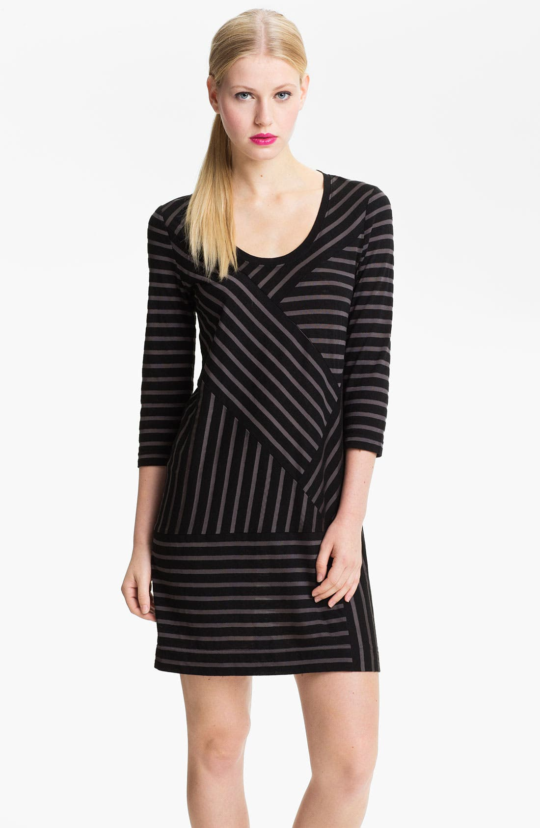 Main Image - MARC BY MARC JACOBS 'Smith' Stripe Jersey Dress