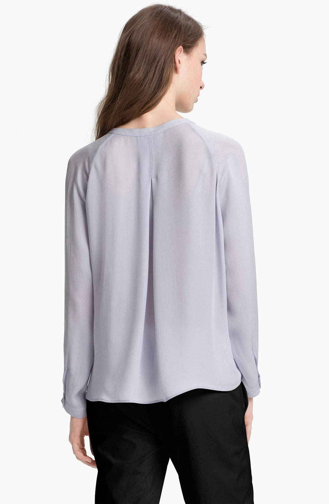 Alternate Image 2  - Vince Raglan Silk Blouse