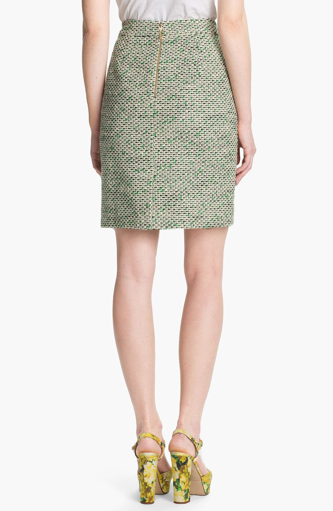 Alternate Image 2  - kate spade new york 'judy' tweed skirt
