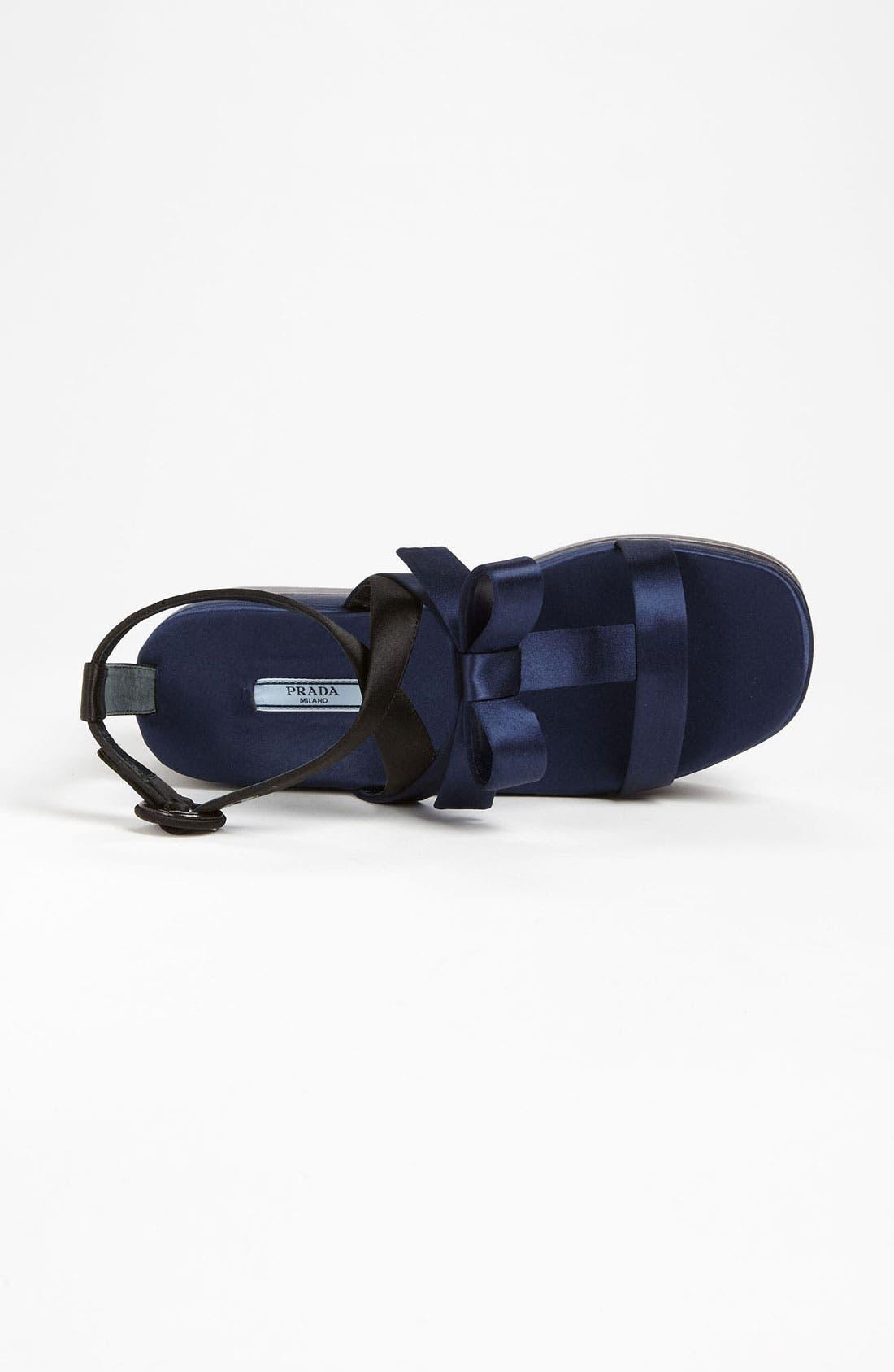 Alternate Image 3  - Prada T-Strap Platform Sandal