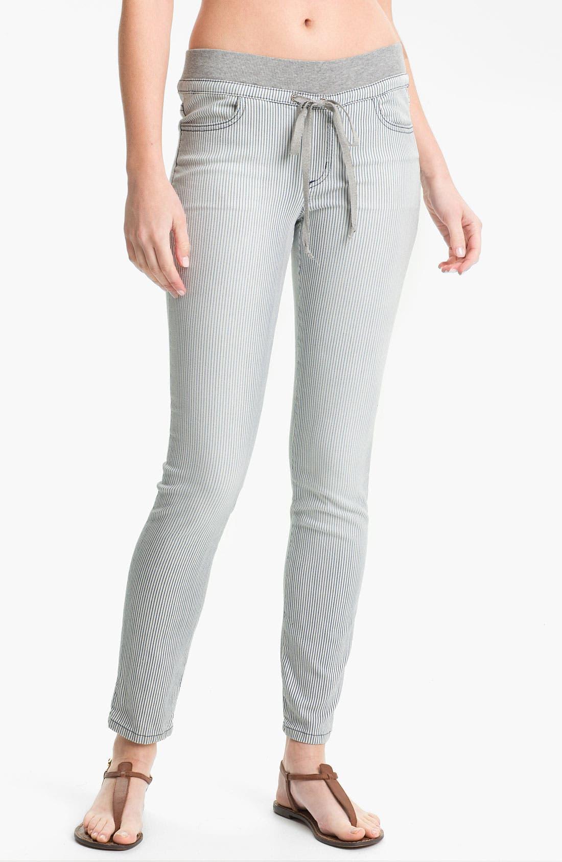Alternate Image 1 Selected - Splendid 'Pacific' Stripe Tapered Pants