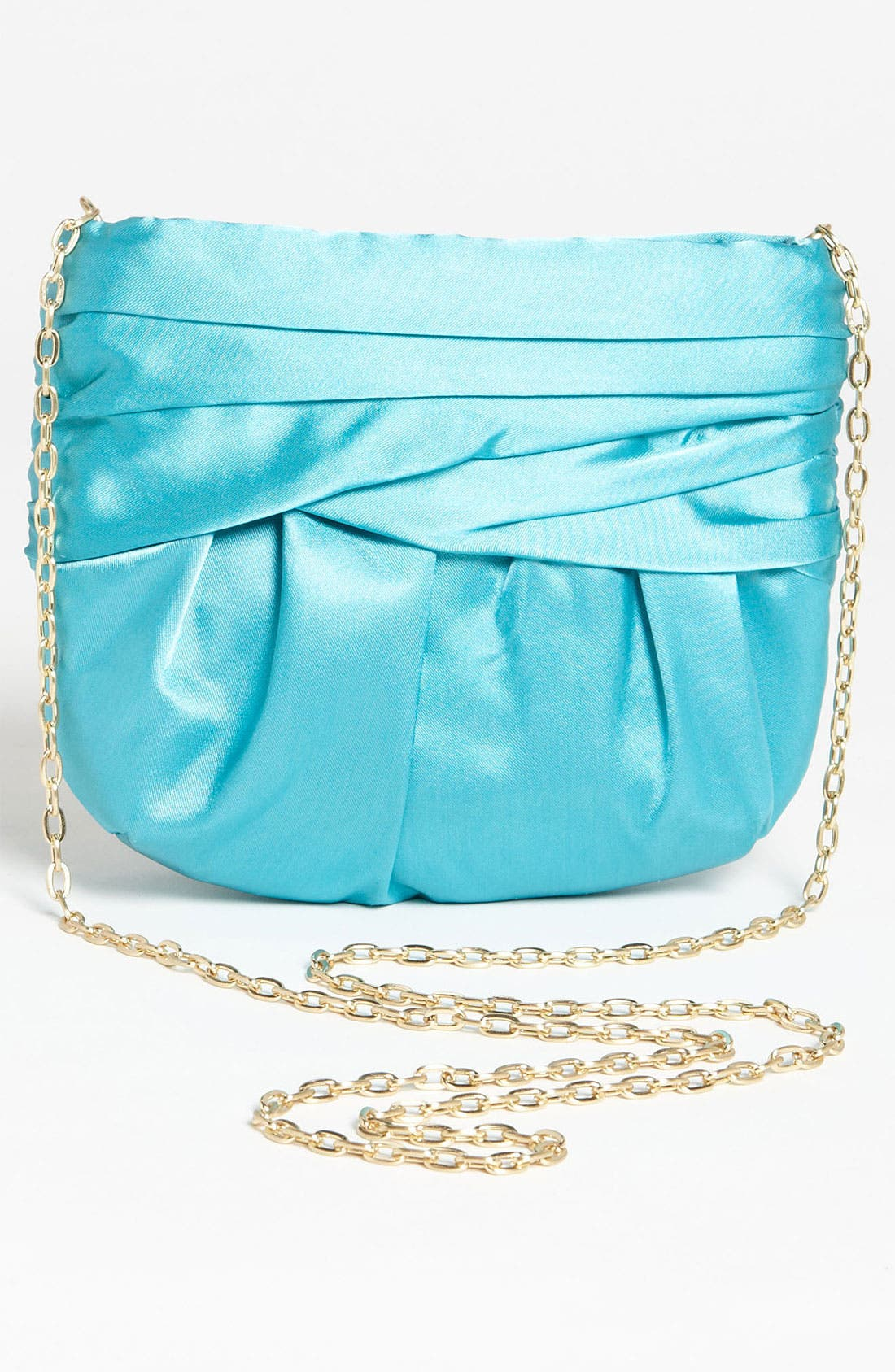 Alternate Image 4  - Glint Pleated Satin Clutch