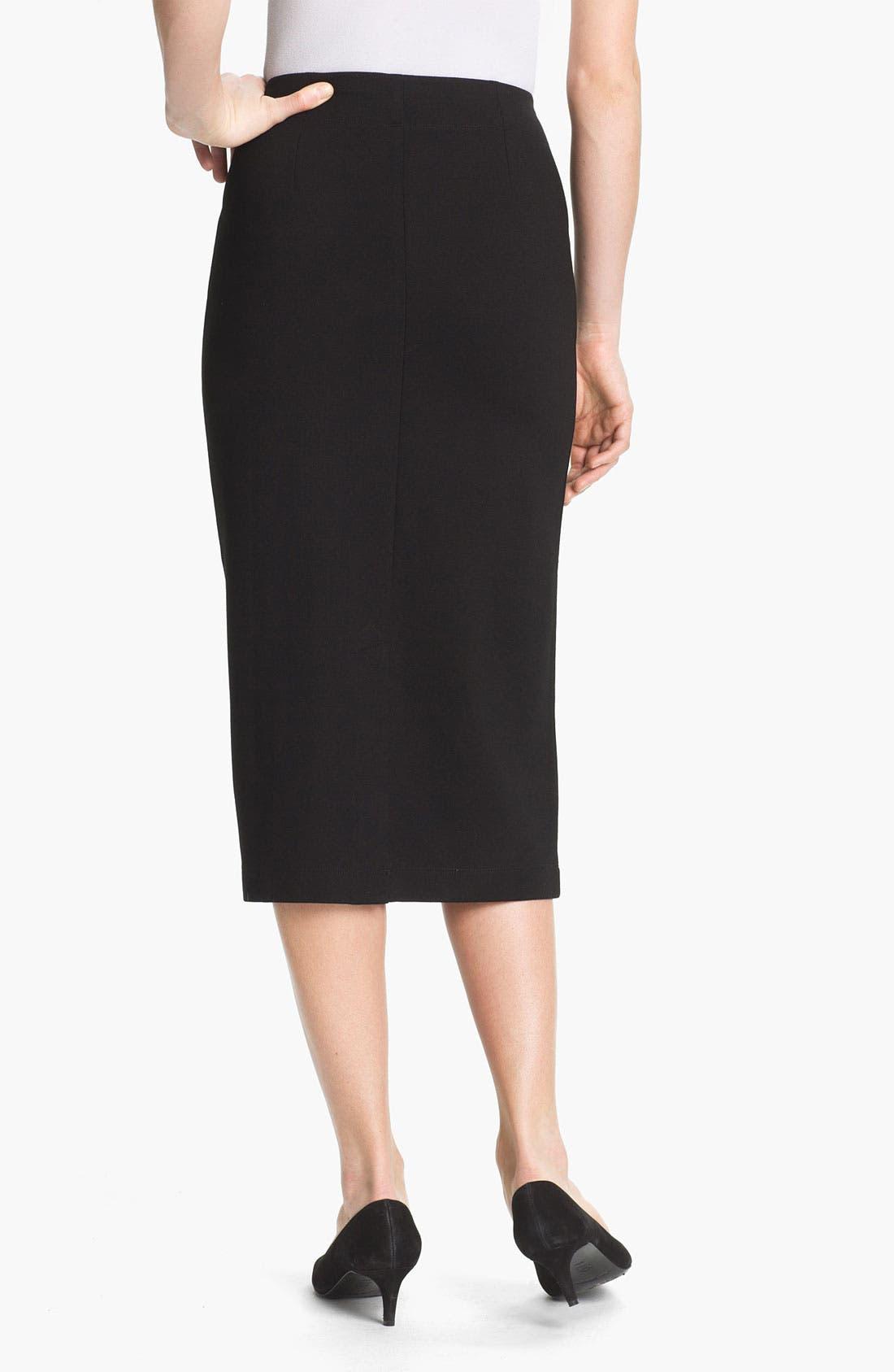 Alternate Image 2  - Eileen Fisher Pull-On Pencil Skirt