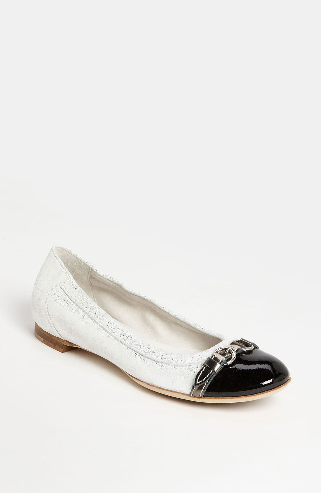 Alternate Image 1 Selected - Attilio Giusti Leombruni Toe Cap Ballet Flat