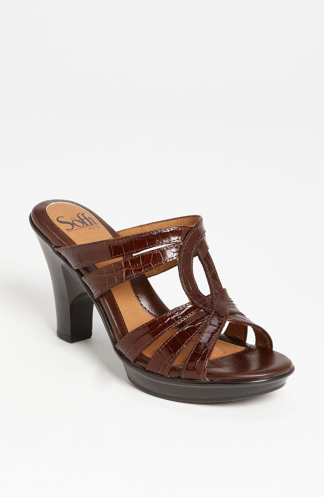 Alternate Image 1 Selected - Söfft 'Pascale' Sandal
