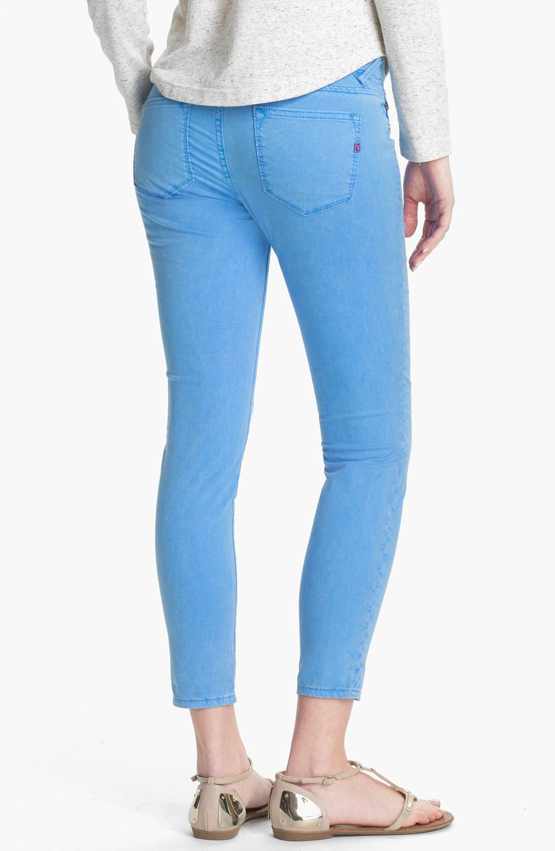 Alternate Image 1 Selected - Vigoss Skinny Crop Jeans (Juniors)