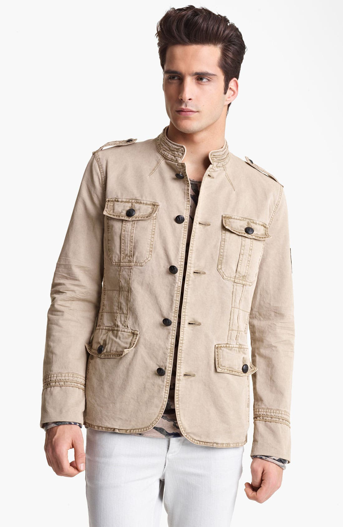 Alternate Image 1 Selected - Zadig & Voltaire 'Kerry' Military Jacket