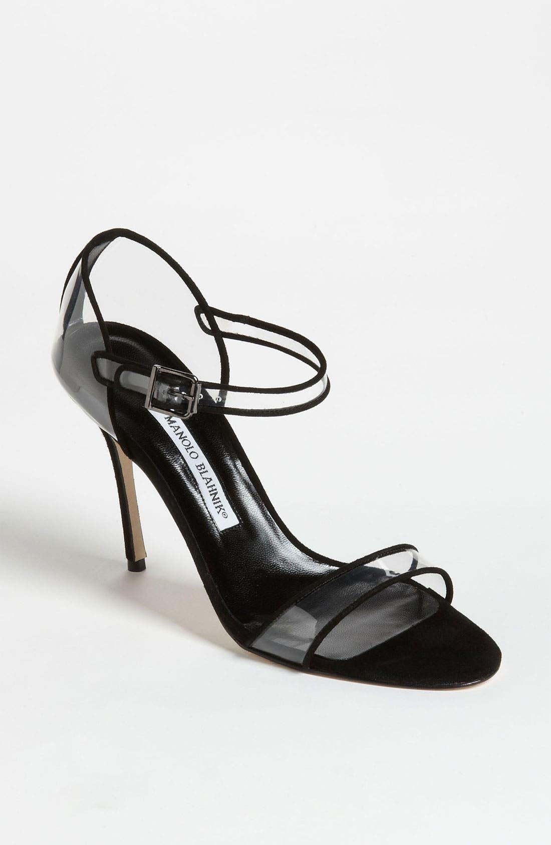 Alternate Image 1 Selected - Manolo Blahnik 'Fersen' D'Orsay Sandal