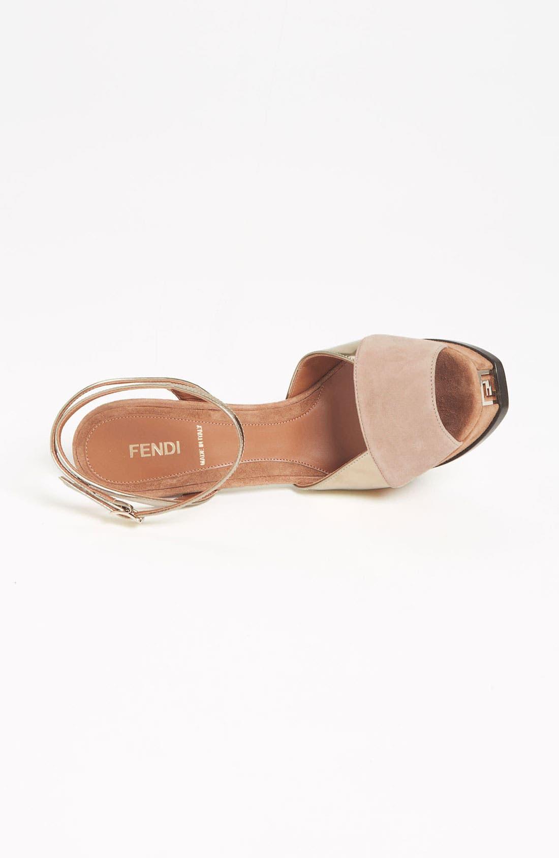 Alternate Image 3  - Fendi 'Fendista' Sandal