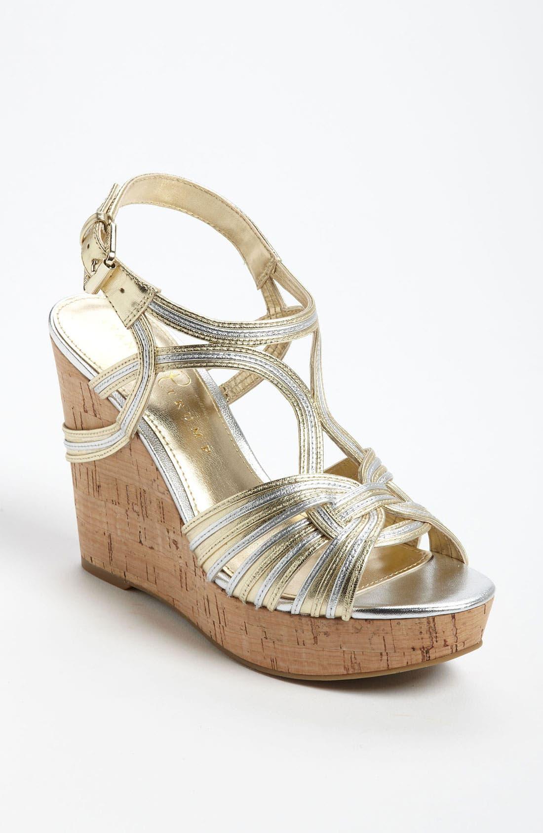 Main Image - Ivanka Trump 'Honey' Wedge Sandal