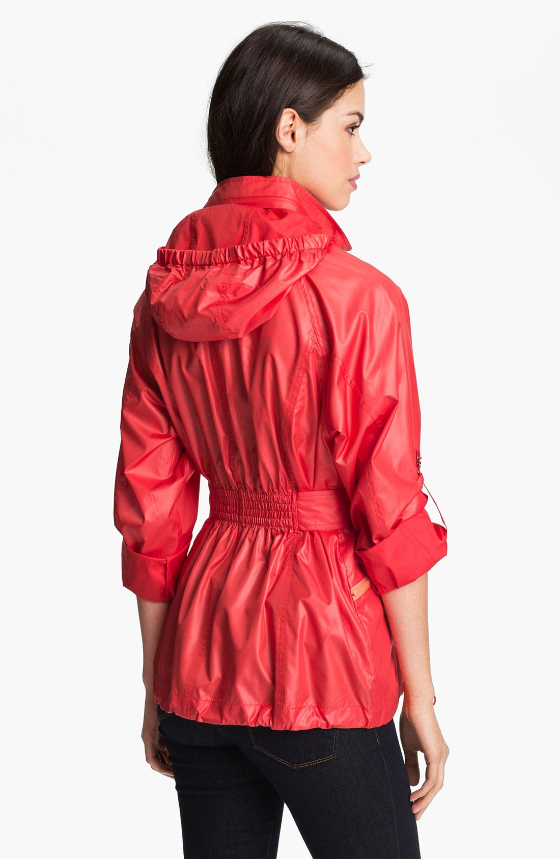 Alternate Image 3  - Vince Camuto 'Scarlet' Roll Sleeve Jacket (Regular & Petite)