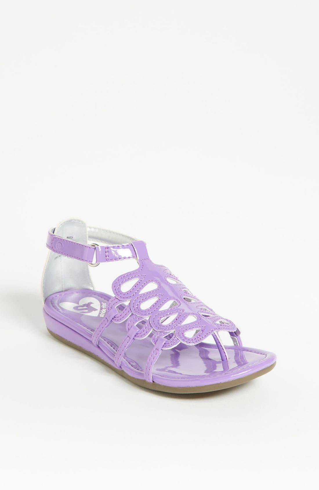 Alternate Image 1 Selected - Stride Rite 'Wakely' Sandal (Toddler)