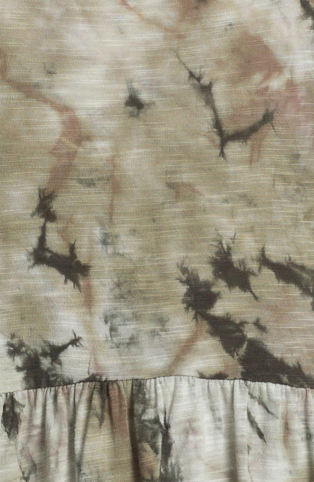 Alternate Image 3  - Love on a Hanger Tie Dye Peplum Tank (Juniors)