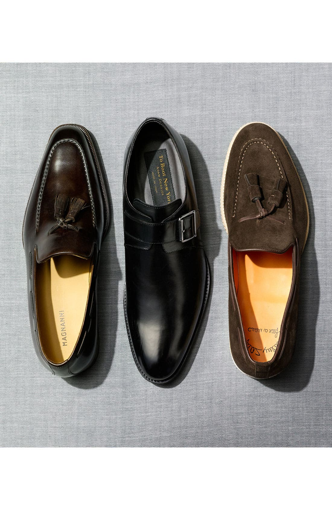 Alternate Image 5  - Santoni 'Terry' Tassel Loafer