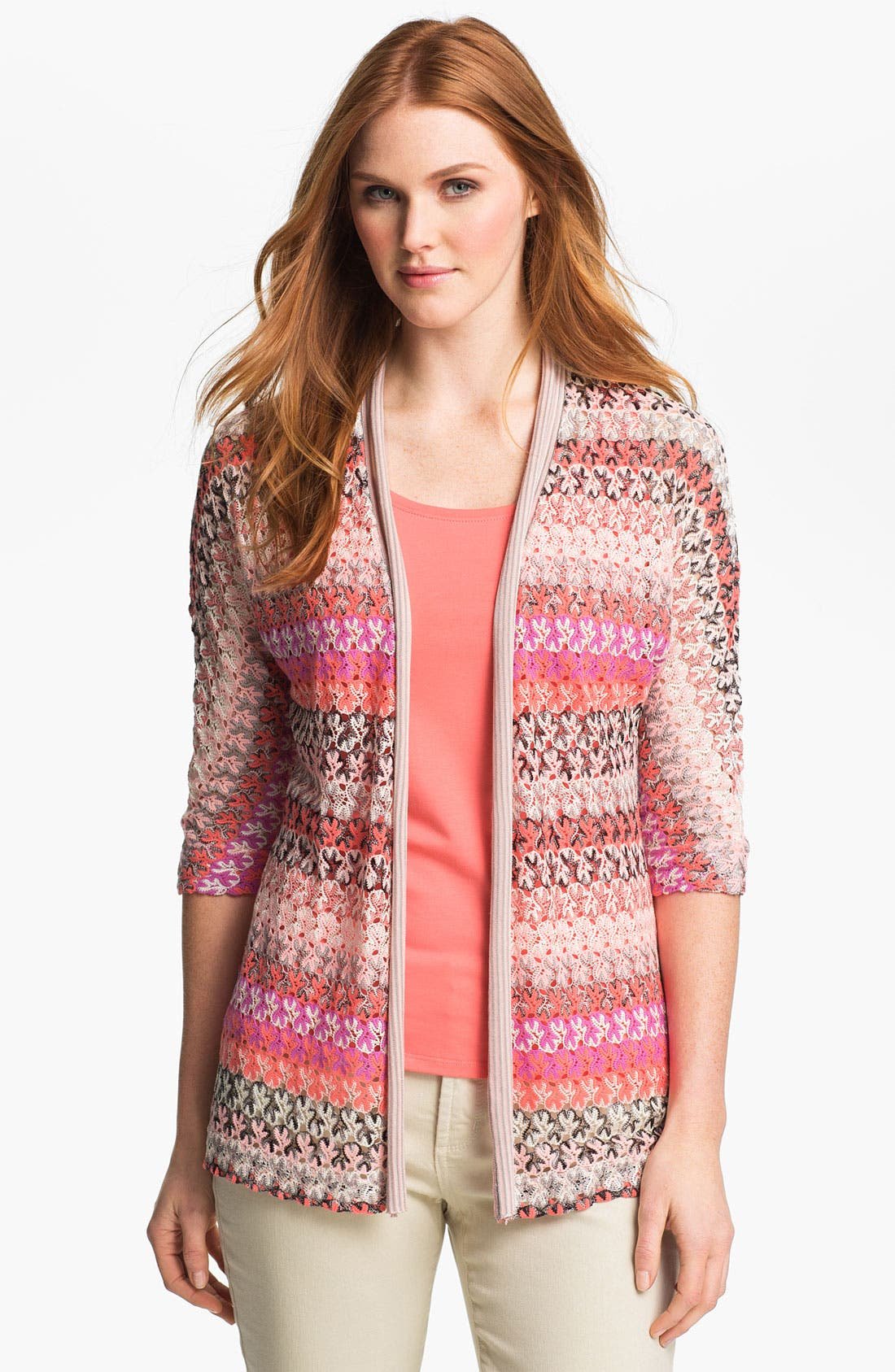 Alternate Image 1 Selected - Nic + Zoe 'Lace Weave' Cardigan