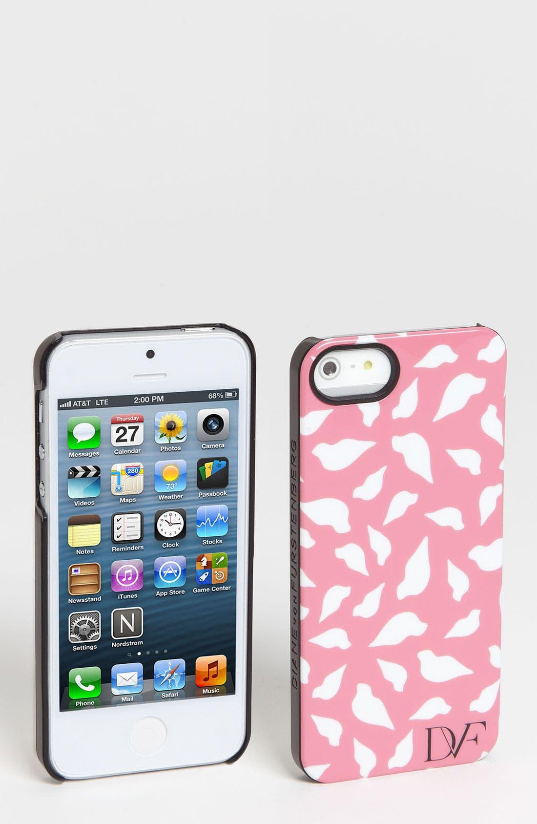 Alternate Image 1 Selected - Diane von Furstenberg iPhone 5 Case