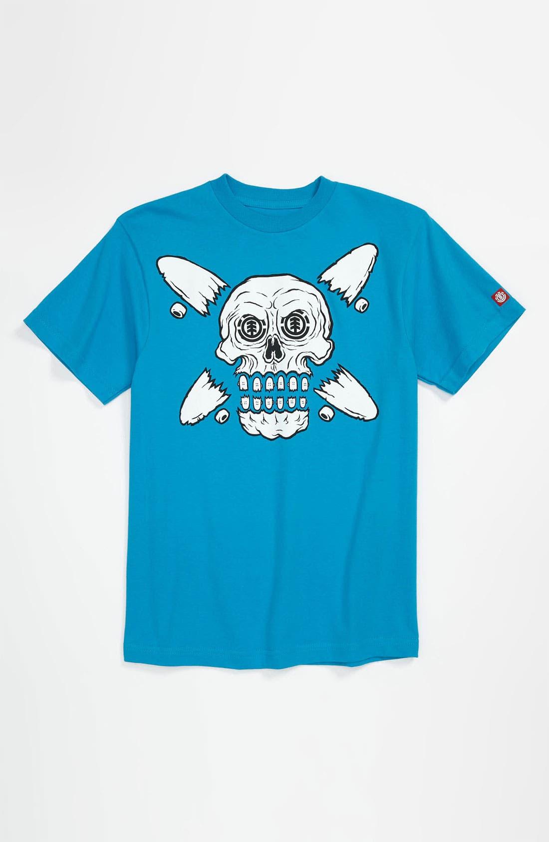 Alternate Image 1 Selected - Element 'Skullement' T-Shirt (Big Boys)