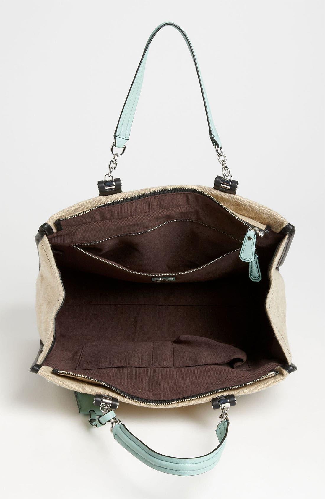 Alternate Image 3  - Diane von Furstenberg 'Lola' Linen Handbag