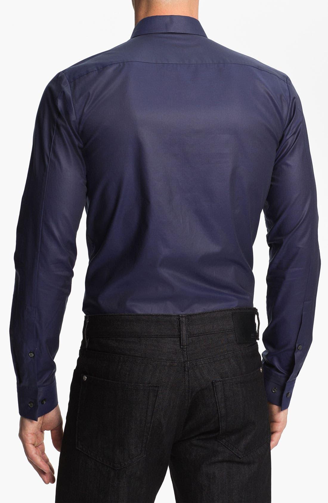 Alternate Image 2  - HUGO 'Etti' Slim Fit Sport Shirt