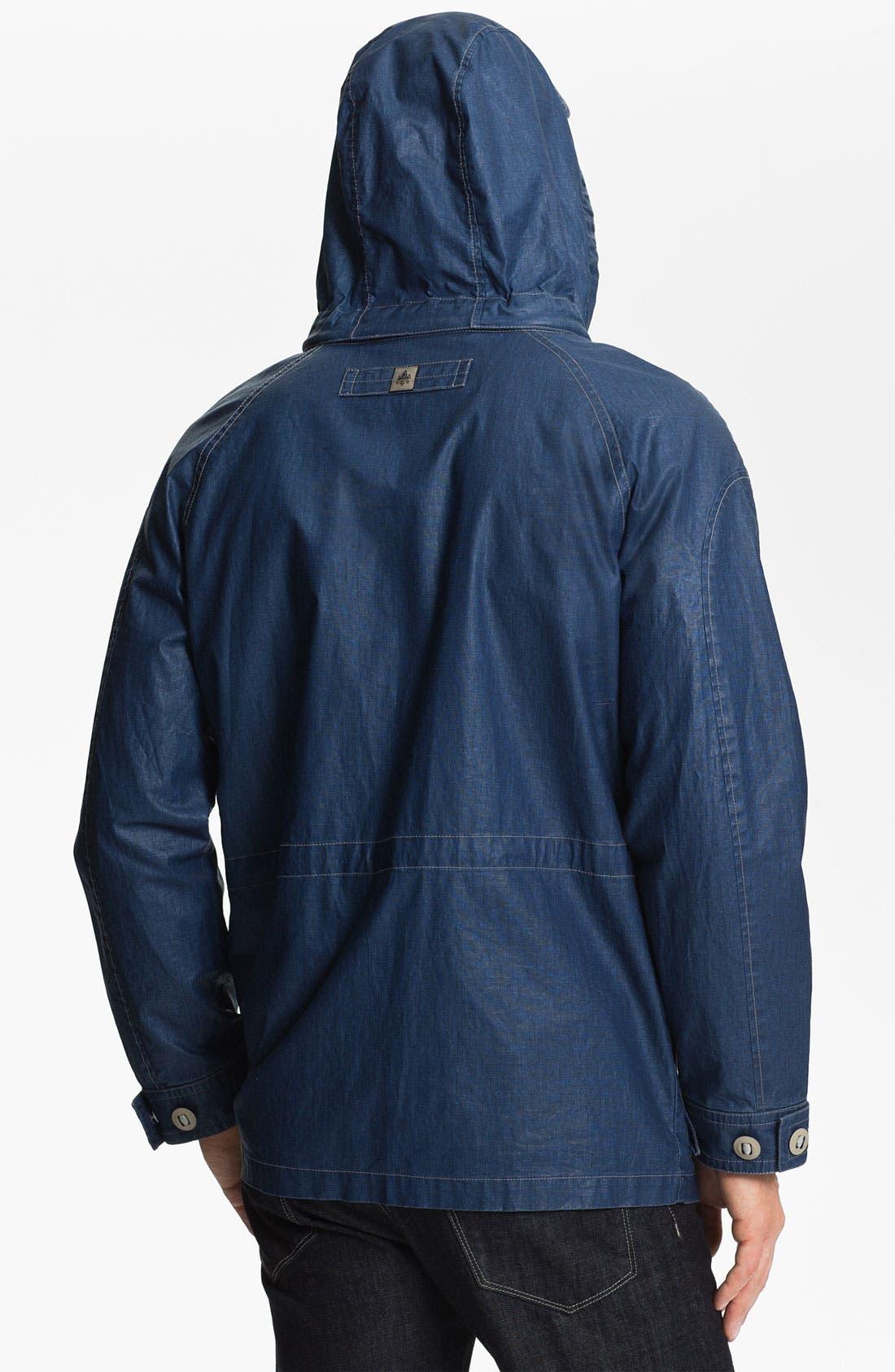 Alternate Image 2  - RAINFOREST Coated Linen Blend Jacket