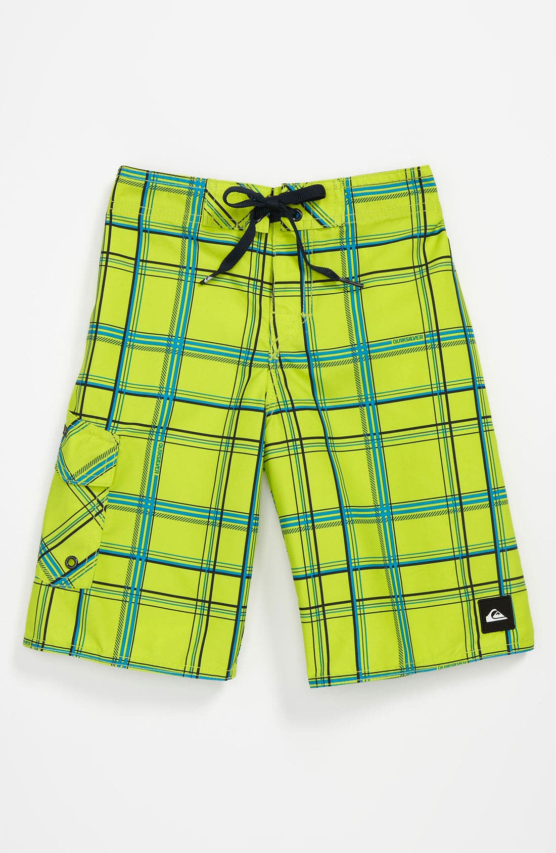 Alternate Image 1 Selected - Quiksilver 'Paid In Full' Board Shorts (Little Boys)