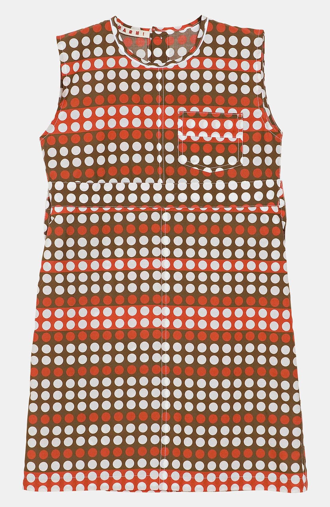 Main Image - Marni Polka Dot Dress (Little Girls & Big Girls)