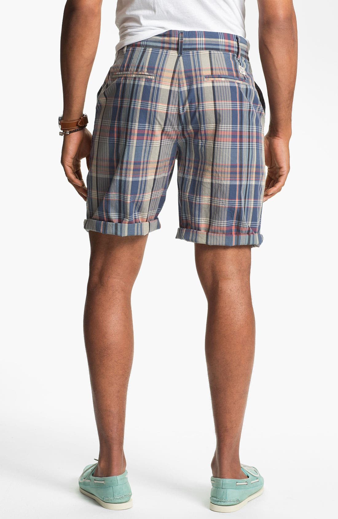 Alternate Image 4  - W.R.K 'Gibson' Flat Front Shorts