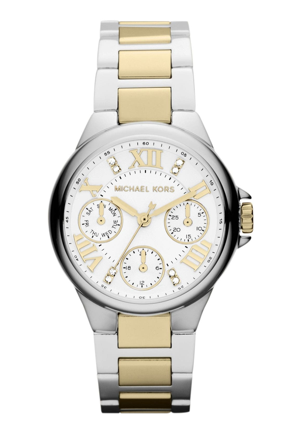 Main Image - Michael Kors 'Mini Camille' Bracelet Watch, 33mm