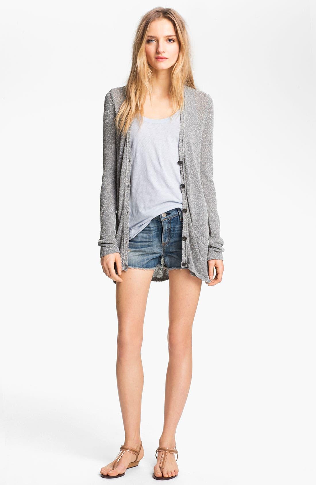 Alternate Image 4  - rag & bone/JEAN 'The Cutoff' Denim Shorts