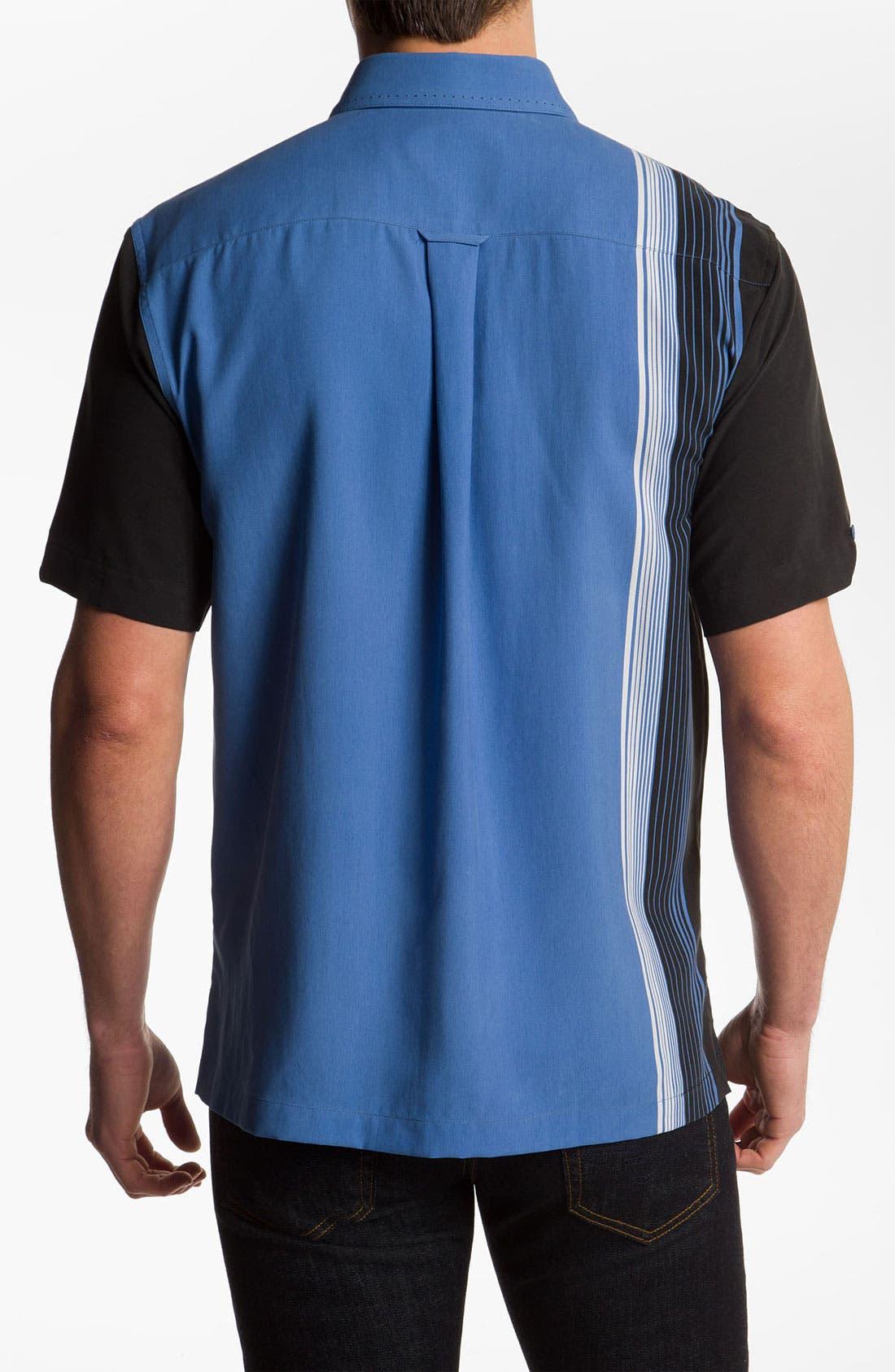 Alternate Image 2  - Nat Nast 'Straight Up' Silk Sport Shirt