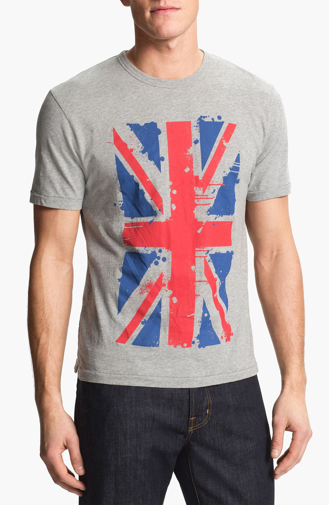 Alternate Image 1 Selected - French Connection 'Union Splat' T-Shirt (Online Only)
