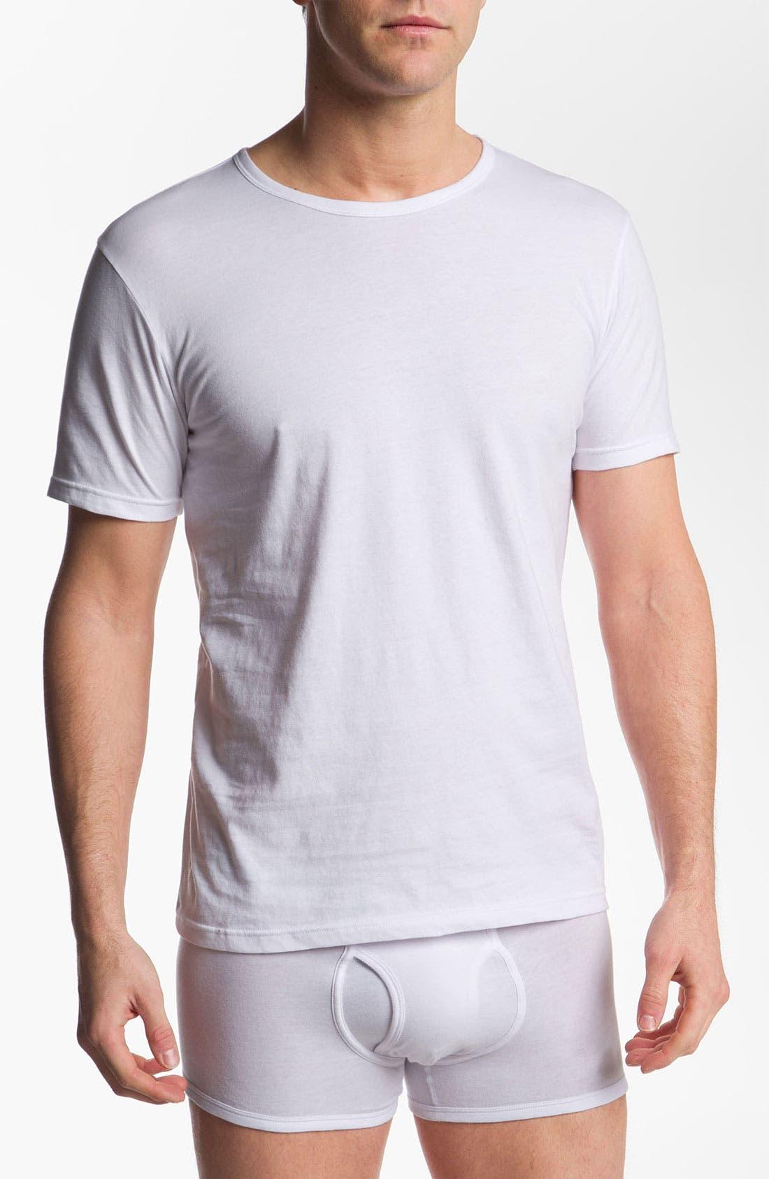 Alternate Image 1 Selected - Emporio Armani 3-Pack Crewneck T-Shirt