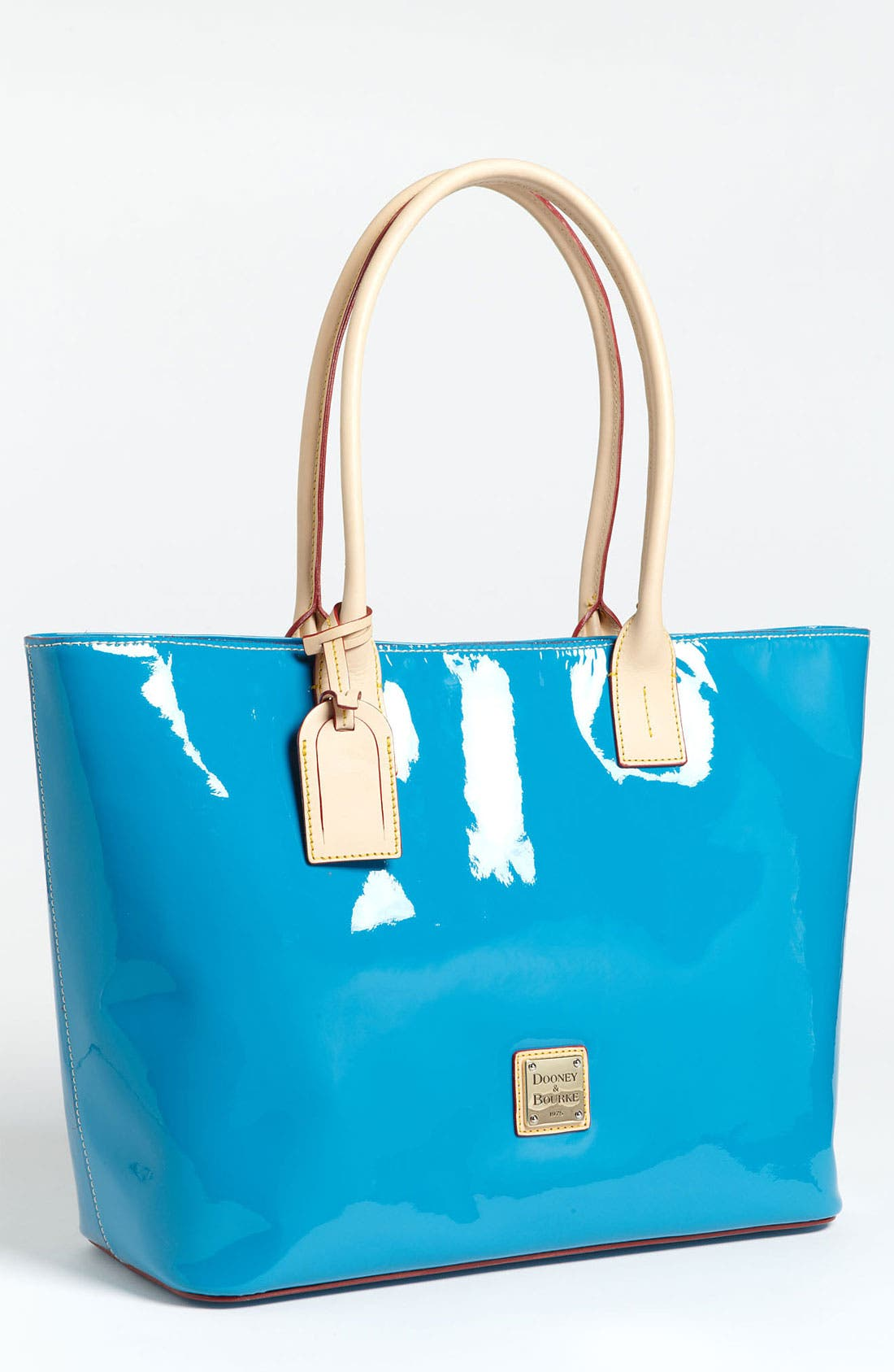 Alternate Image 1 Selected - Dooney & Bourke 'Large' Patent Leather Shopper