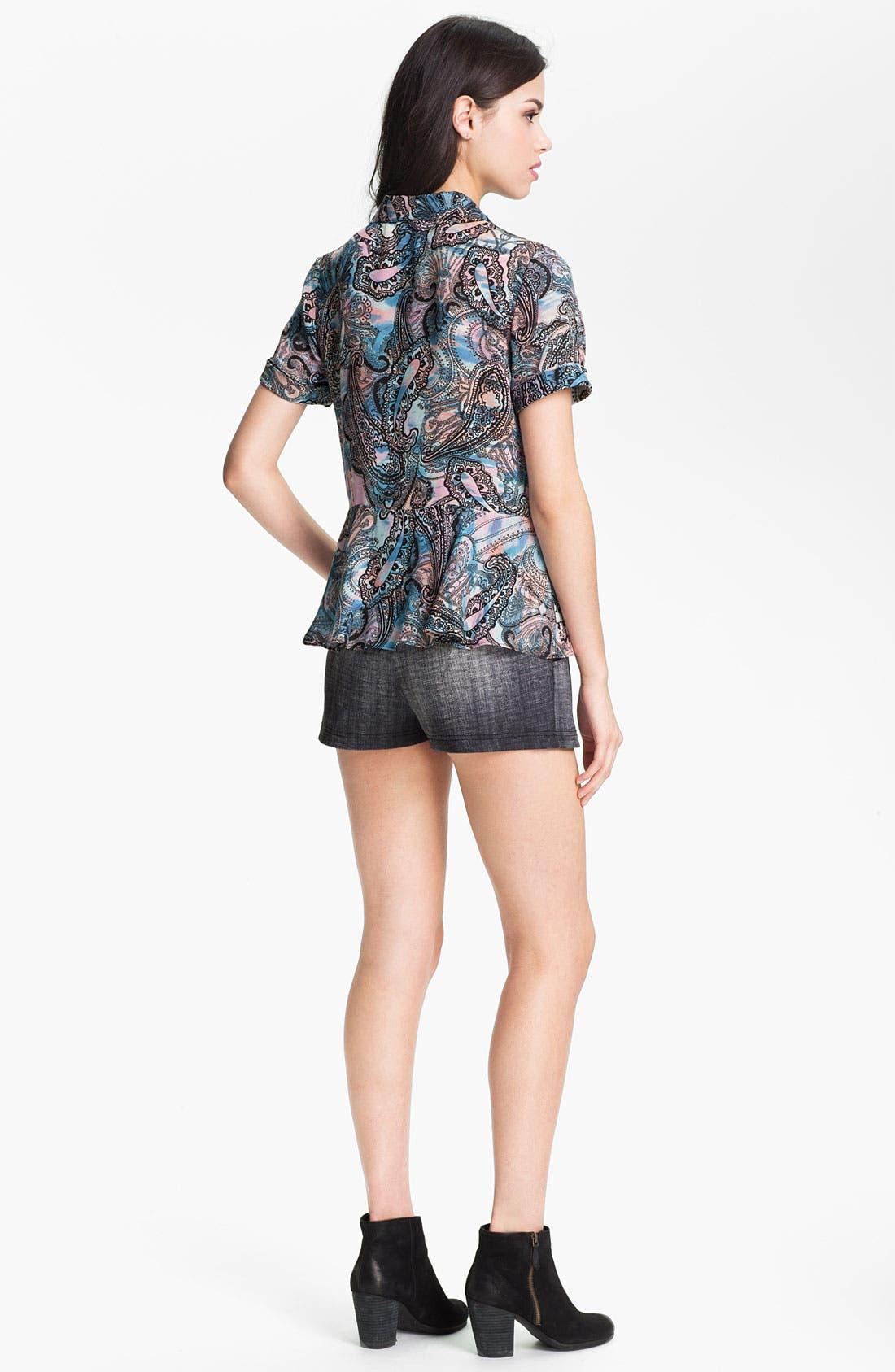 Alternate Image 5  - Rebecca Minkoff 'Casey' Print Silk Top