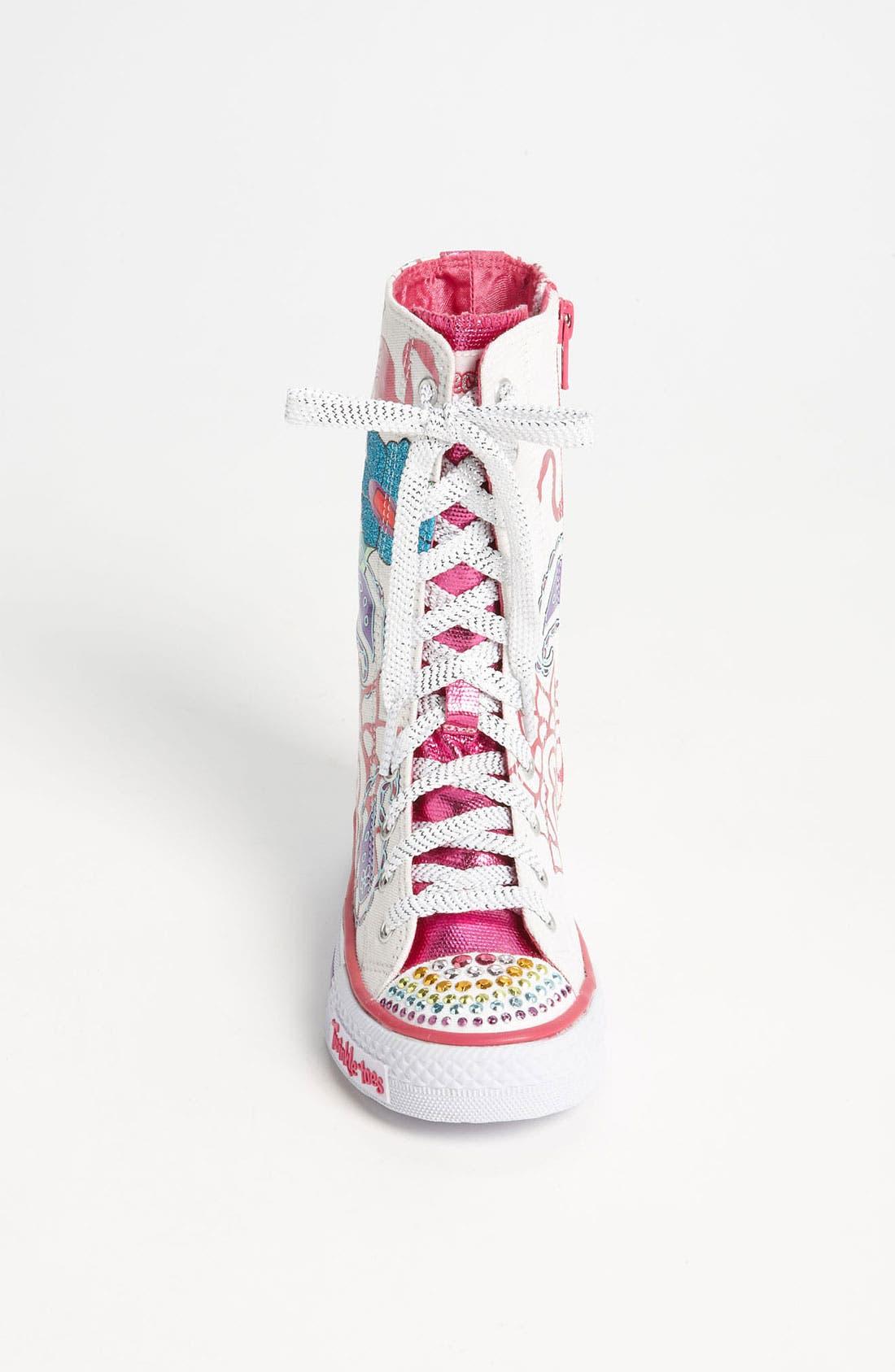 Alternate Image 3  - SKECHERS 'Twinkle Toes - Shuffles Mellow Me' Sneaker (Toddler & Little Kid)