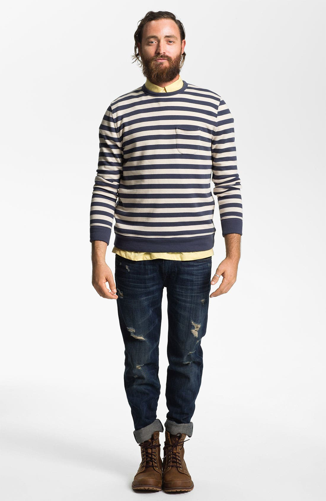 Alternate Image 5  - Joe's 'Brixton' Slim Straight Leg Jeans (Macer)