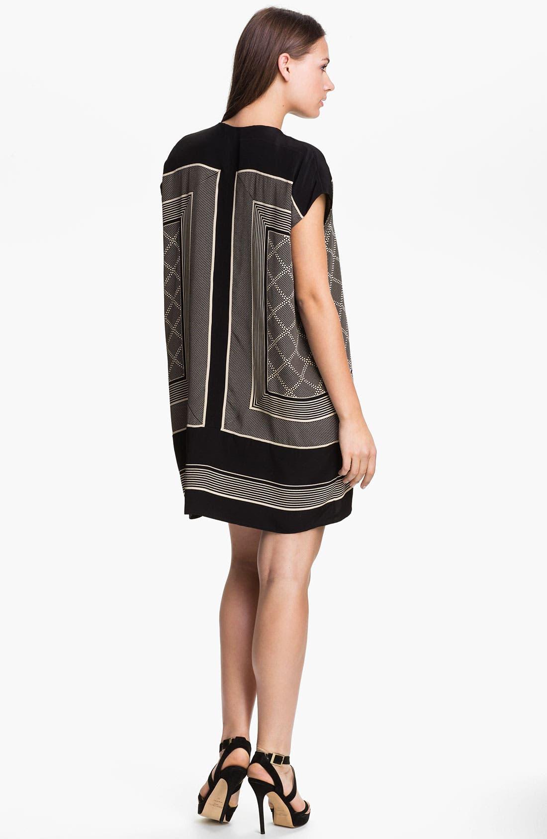 Alternate Image 2  - Vince Scarf Print Shift Dress
