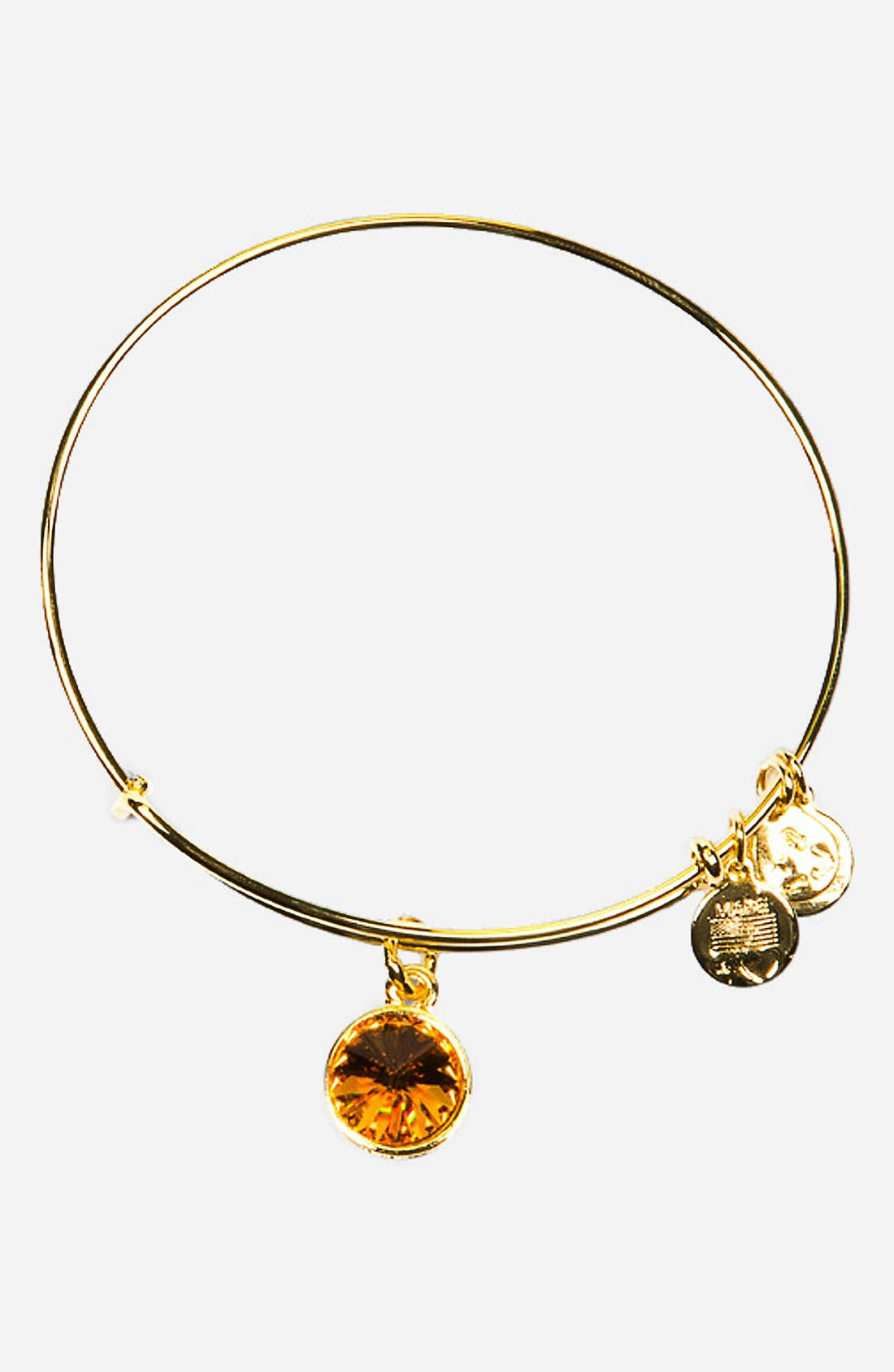 Alex and Ani Birthstone Expandable Wire Bangle