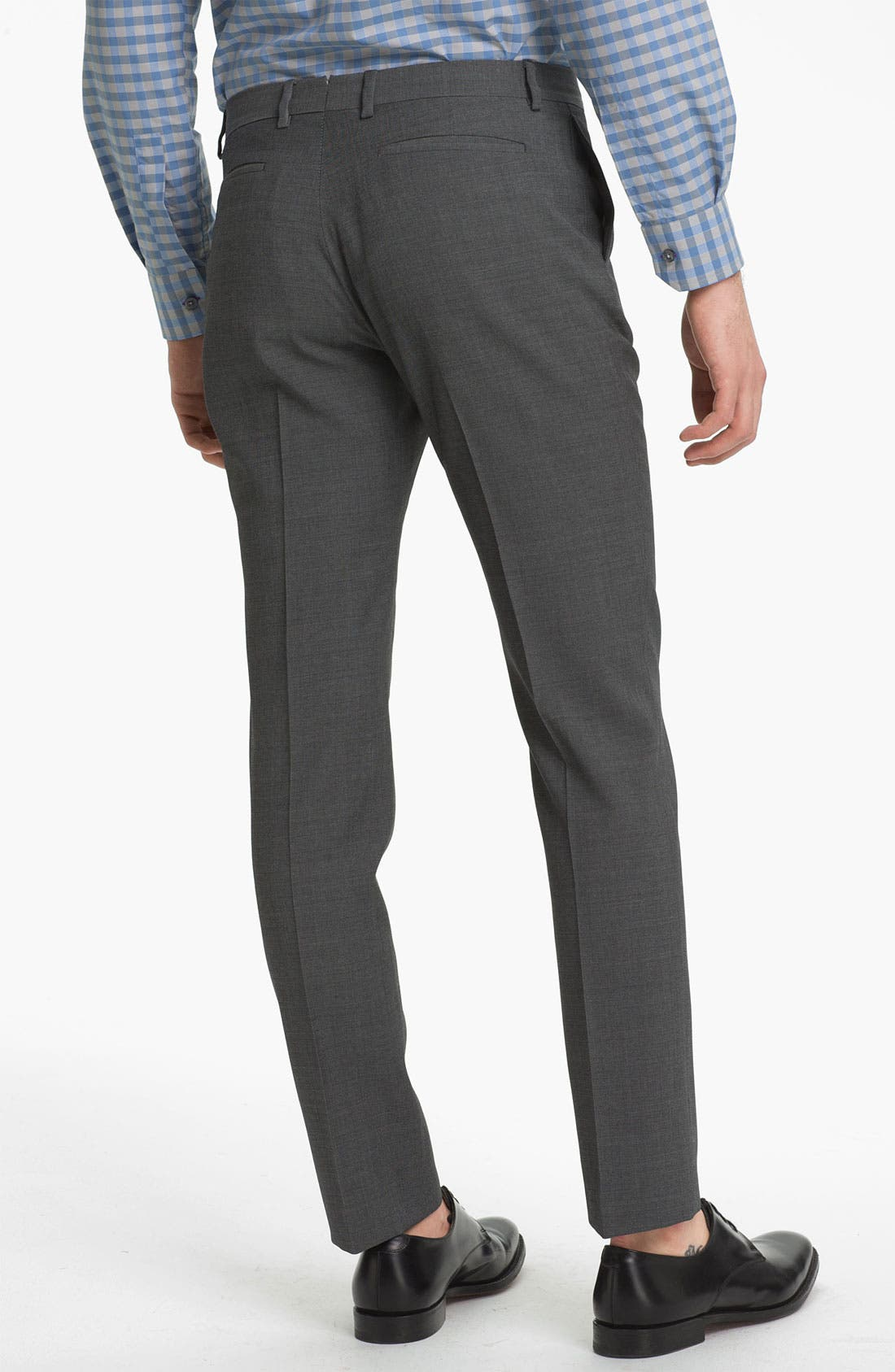 Alternate Image 2  - PS Paul Smith Slim Tapered Fit Wool Trousers